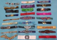 80s 90s Belts Stretch Hippies 30 LBS