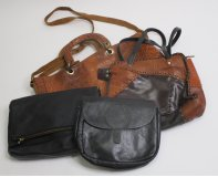 Leather Bags 34 pc 29 lbs 0604203-16