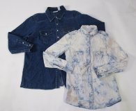 Denim Button Ups 20 pc 14 lbs 0618205-15