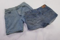 recycled denim shorts 30 pc 38 lbs 0629216-21