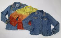 embroidered Jean Jackets 9 pc 13 lbs 0630202-15