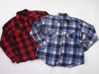 Vintage Flannel Shirts 11 pc 11 lbs 0709204-10