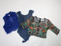 Vintage Leotards and Crop Tops 52 pc 17 lbs 0709207-15