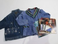 Vintage Denim Jackets 31 pc 34 lbs 0729200-21