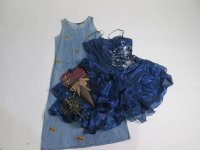 Vintage Recycle Dresses 52 pc 49 lbs 0730202-21