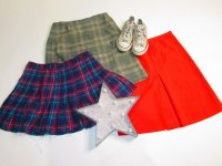 Vintage Recycle Skirts 57 pc 31 lbs 0731202-21