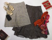 Vintage Recycle Skirts 60-70 pc 41 lbs 0805206-21