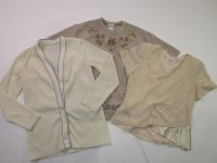 Vintage White and Beige Blouses 45 pc 17 lbs 0806204-15