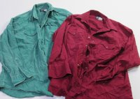 Recycle Western Wrangler & more Shirts 34 pc 39 lbs 0810406-21