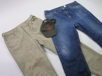 "Levi's & Wrangler Denim Size 38"" 21 pc 41 lbs 0812207-21"