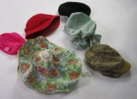 Vintage Fun Hats 139 pc 28 lbs 0817201-21