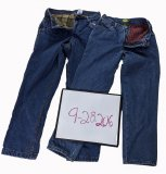 Flannel Lined Denim 18 pcs 40 lbs 0928206-21