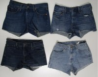 Light Wash Dark Wash Denim Jean Shorts 70 pcs 40 lbs