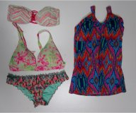 Womans Colorful Bathing Suits One Piece Two Piece 103 pcs 23 lbs