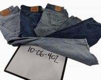 Recycle Levis Jeans 36' & below 34 Pc 45 Lbs 1006402-21