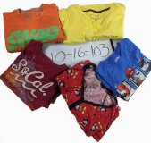 Vintage Recycle T-Shirts 86 pcs 47 lbs 1016103-21