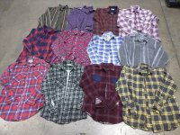 Grunge Flannel Shirts 30 PCS 40 LBS #6-15-4000-21