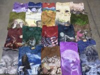 Animal Print T-Shirts 57 PCS 31 LBS #6-1-4004-16