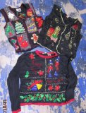 12-7-183-21 Ugly Christmas sweaters! 50 pcs 56 lbs