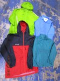 Windbreakers Light Jackets 51 pcs 44 lbs