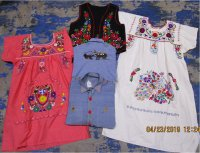 Embroidered Mix 9 pcs 6 lbs