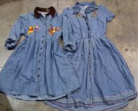 90s Denim Dresses 21 pcs 24 lbs 7-19-5002-16
