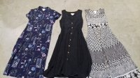 90s Denim night floral short and long dresses LBS #7-30-5000-21