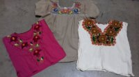 Embroidered blouses & Shirts 16 PCS 7 LBS #8-24-5002-10