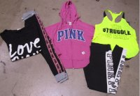 Victoria's Secret Pink Tops 77 pcs 23 lbs #9-18-5003-16