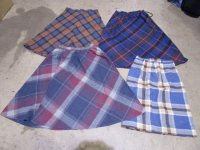 Plaid Pencil & Flirty Skirts for Back to School 43 pcs 39 lbs